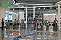 Entrance faregates of DAE Caoqiao Station (20190926144525).jpg