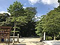 Entrance of path for Mount Homanzan in Kamado Shrine.jpg