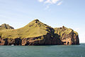 Entrance to the harbour of Vestmannaeyjar from the ferry Herjolfur.jpg