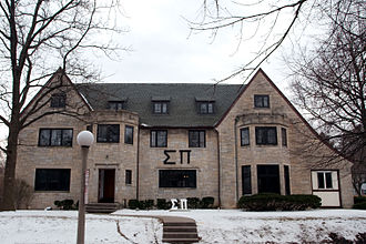 North American fraternity and sorority housing - University of Illinois, Sigma Pi house in Urbana, IL
