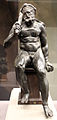 Ercole seduto (epitrapezios), 50 ac-50 dc ca., con braccia, clava e gambe sotto il ginocchio di restauro 02.JPG