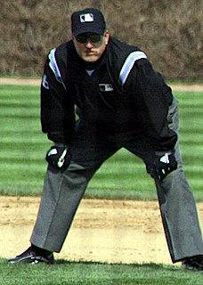 Eric Cooper baseball umpire from the United States
