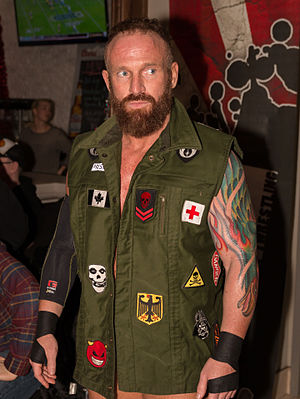 Eric Young (wrestler) - Young in December 2015