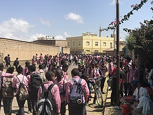 Education in Eritrea - Pupils in uniform
