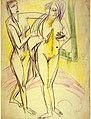 Ernst Ludwig Kirchner Nach dem Bade 1914.jpg