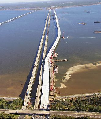 Escambia Bay Bridge - Replacement of I-10 bridges over Escambia Bay