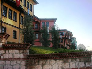 Odunpazarı - Old houses in Odunpazarı district