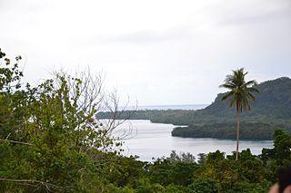 Espiritu Santo largest island in the nation of Vanuatu