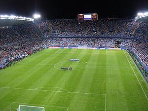 2009 Peace Cup - Image: Estado de la Rosaleda (Málaga C.F.)