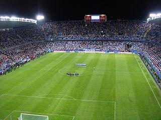 La Rosaleda Stadium stadium at Málaga, Spain
