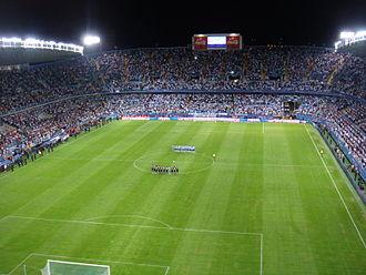 Málaga CF - Estadio de La Rosaleda