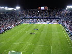El Málaga quiere ampliar el aforo de La Rosaleda 280px-Estado_de_la_Rosaleda_(M%C3%A1laga_C.F.)