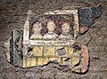 Età di paolo I, tre figure sa storie della vergine, 757-767, 02.jpg