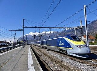 British Rail Class 373 Electric multiple unit that operates Eurostars high-speed rail service