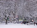 Euston Square in the snow - geograph.org.uk - 1145154.jpg