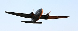 Everts Air Cargo - Everts Air C-46 taking off at Anchorage