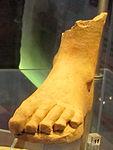 Ex-voto della collezione ricci busatti, piede, III-II sec. ac. 01.jpg