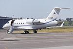 Execujet Australia (VH-VSZ) Canadair CL-600-2B16 Challenger 600 at Wagga Wagga Airport (2).jpg