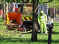 Först tree shredder in Tottenham, Haringey, London, England 2.jpg