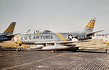 PF-86F du 21st FBW à Chambley AB.