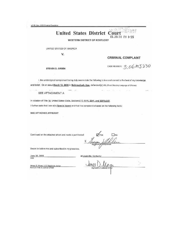 File:Fbi Affidavit In Support Of An Arrest Warrent For Steven Dale