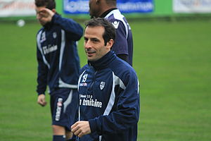 Ludovic Giuly - Giuly in training with Lorient in 2013