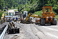 FEMA - 35612 - Damaged overpass and construction equipment in West Virginia.jpg