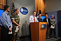 FEMA - 38294 - FEMA Administrator R. David Paulison, and others, at the FEMA Pr.jpg
