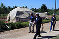 FEMA - 44143 - Community Relations Workers at Tent Home in Mississippi.jpg