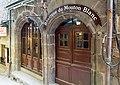 Façade de l'ancienne hôtellerie de l'escu de Bretaigne (Le Mont-Saint-Michel, Manche, France).jpg