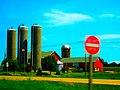 Farm in Windsor with Four Silos - panoramio.jpg