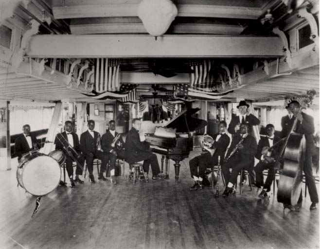 Fate Marable's New Orleans Band on the S. S. Sidney
