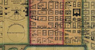 Ohio Drive - Ohio Avenue in 1851
