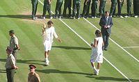 Federer Nadal trophy presentation 2006.jpg