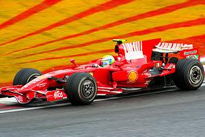 2008 Brazilian Grand Prix - Grand Prix winner Felipe Massa.