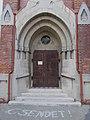 Felsőpárti Reformed Church, portal, 2019 Szentes.jpg
