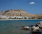 Feraclos Castle in Charaki. Rhodes, Greece.jpg