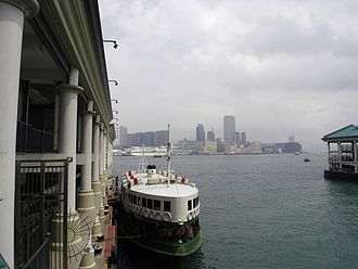 Tourism in Hong Kong - Star Ferry Pier, Central on Hong Kong Island