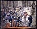 Fest på kungliga slottet. Akvarell av Fritz von Dardel, 1836 - Nordiska museet - NMA.0038454.jpg