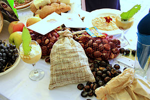 Albanian cuisine - Chestnuts are widely grown throughout Albania.