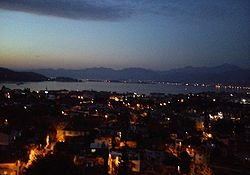 Fethiye at night