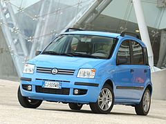 Fiat Panda II przed face liftingiem