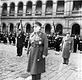 Field Marshal Papagos at the Invalides courtyard after being decorated.jpg
