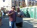 Fieri with his fan Saleem Khan.jpg
