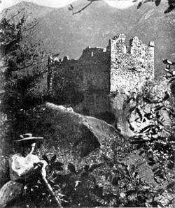 Fig 27, castello di rencio -crodo, angolo nord ovest, p143, foto nigra, nigra il novarese.jpg