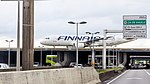 Finnair OH-LXF on runway of Airport Charles-de-Gaulle, Autoroute A1-2183.jpg