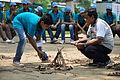 Fire-making - Survival Programme - Summer Camp - Nisana Foundation - Sibpur BE College Model High School - Howrah 2013-06-09 9684.JPG