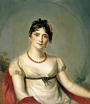 Empress Joséphine - Portrait by Firmin Massot