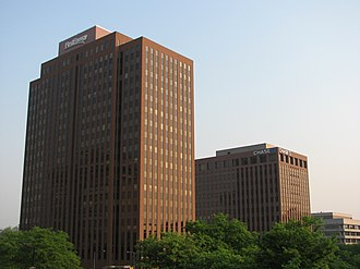 FirstEnergy - FirstEnergy headquarters in downtown Akron, Ohio.