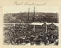 First Contingent Boer War at wharf, Launceston (36298933356).jpg